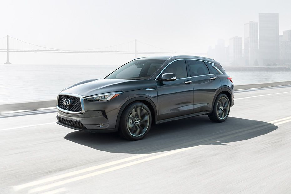 QX50 2019 Front angle low view