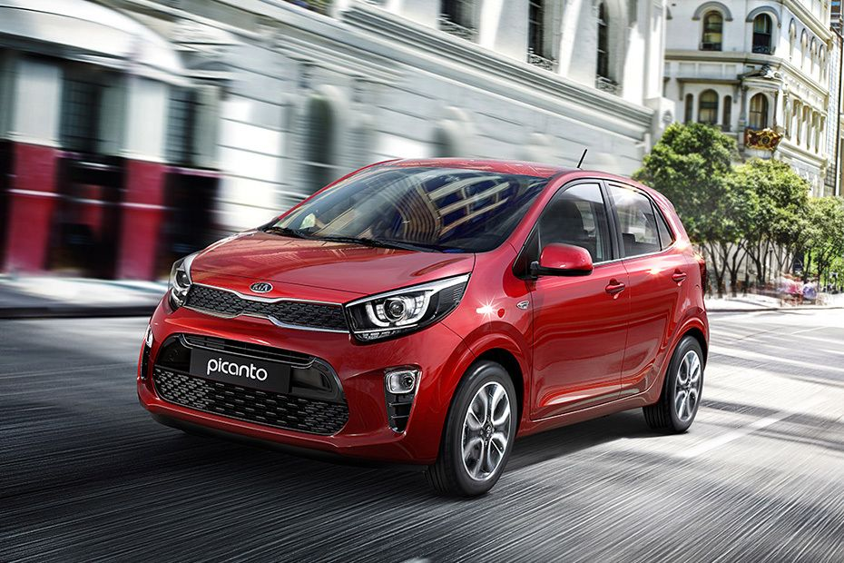 Picanto Front angle low view