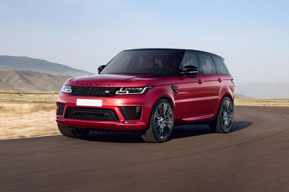 Range Rover Sport Front angle low view