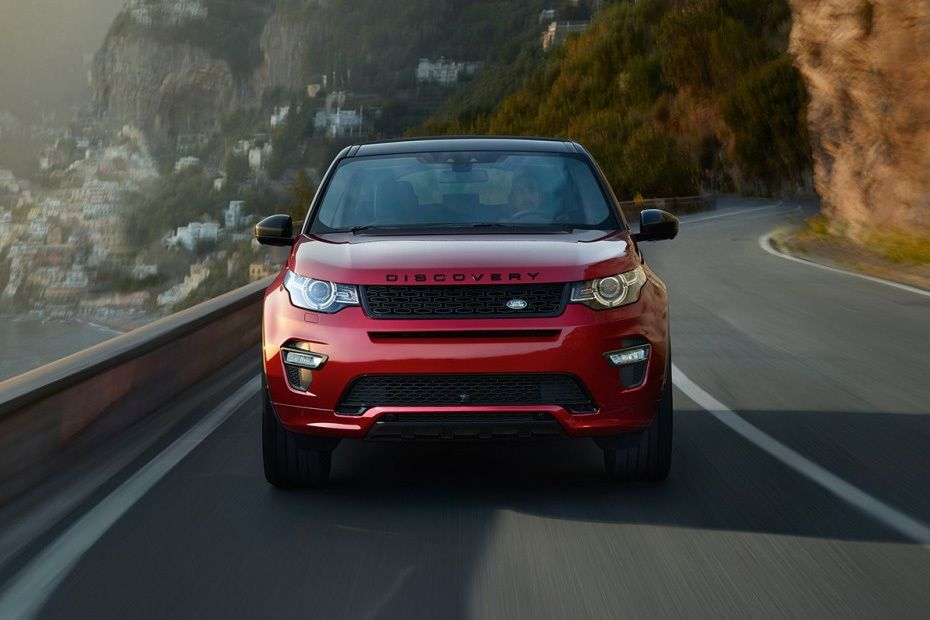Full Front View of Discovery Sport