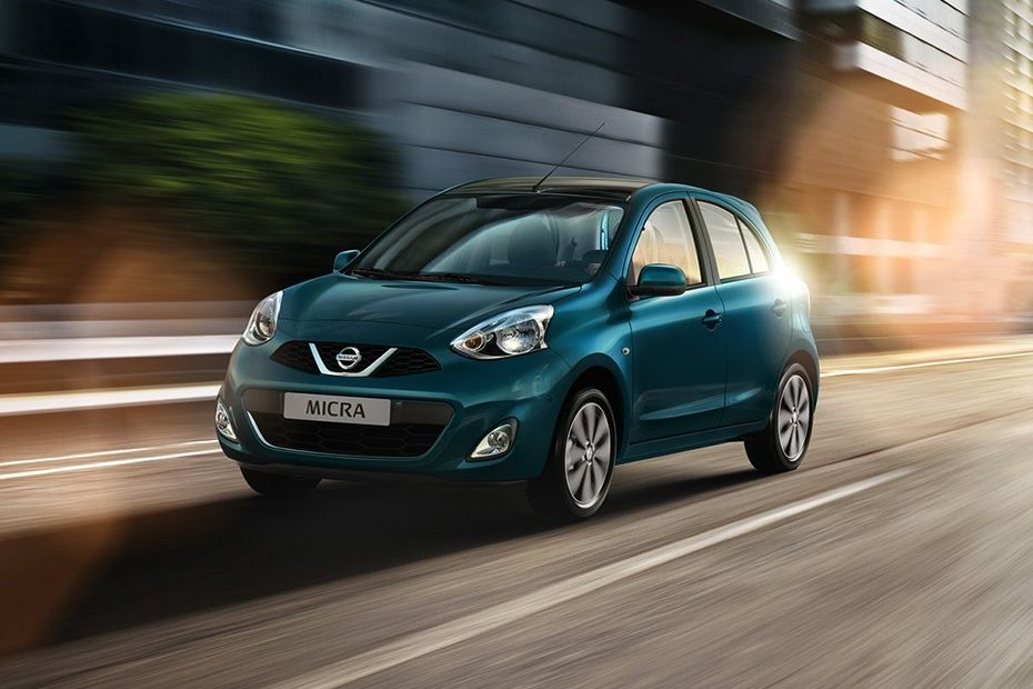 Micra Front angle low view