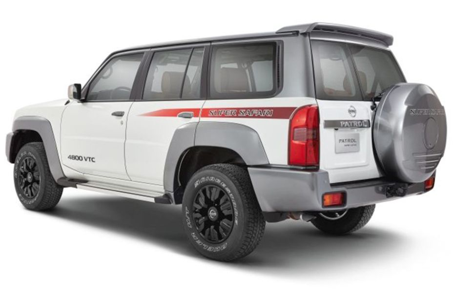 Rear Cross Side View of Nissan Patrol Safari