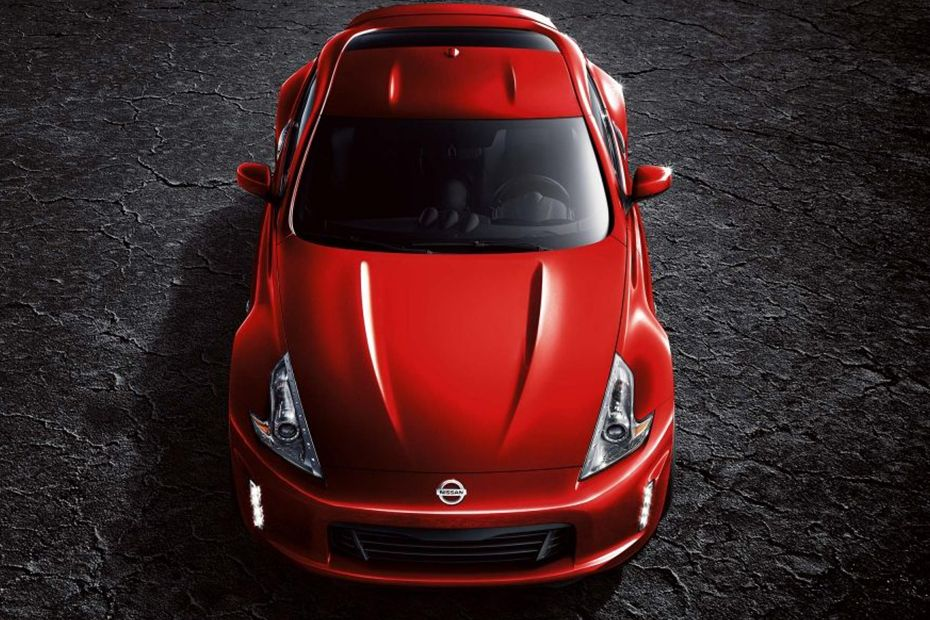 Full Front View of 370Z Coupe