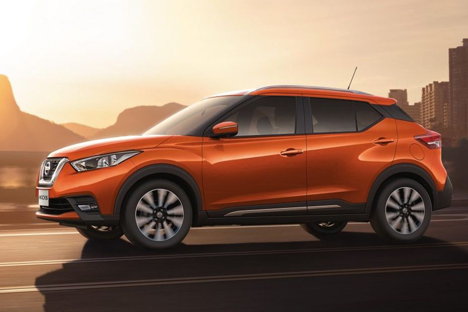Nissan Kicks Colors