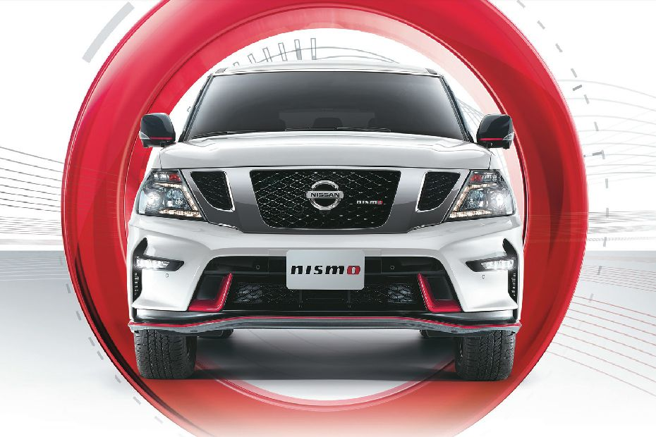 Full Front View of Patrol Nismo