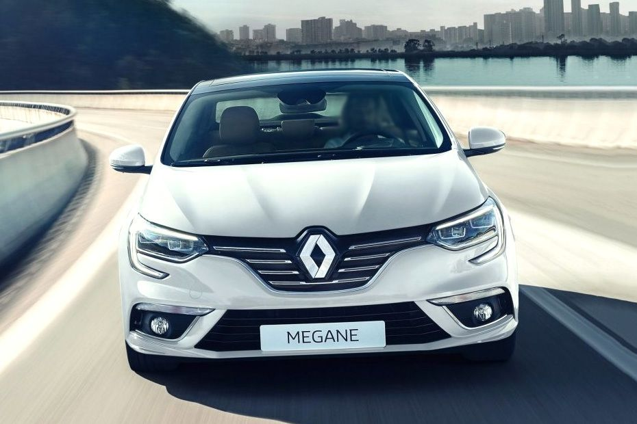 Full Front View of Megane