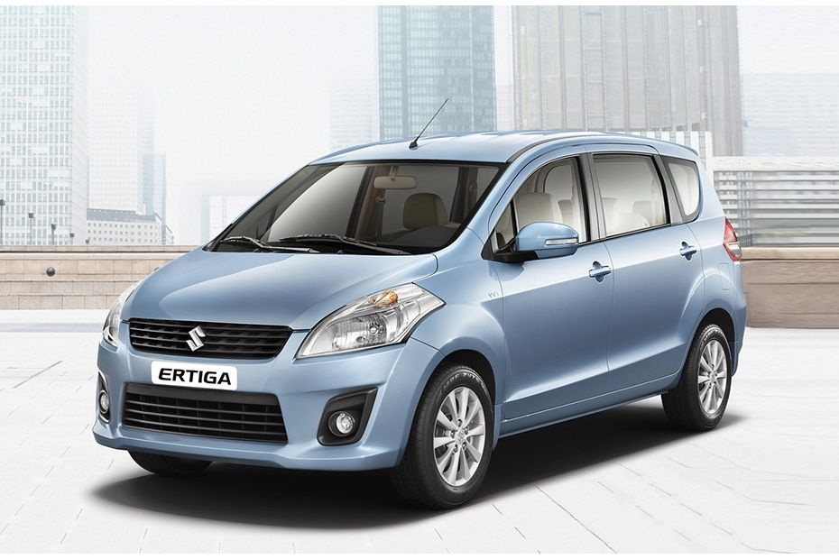 Ertiga Front angle low view