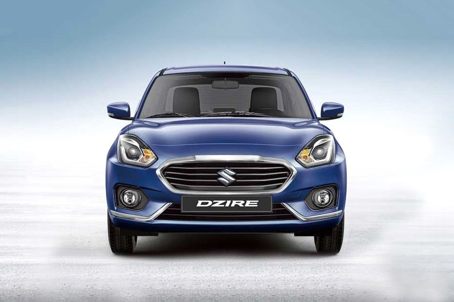 Full Front View of Dzire