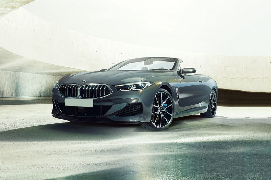 8 Series Convertible Front angle low view