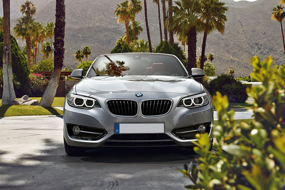 Full Front View of 2 Series Convertible
