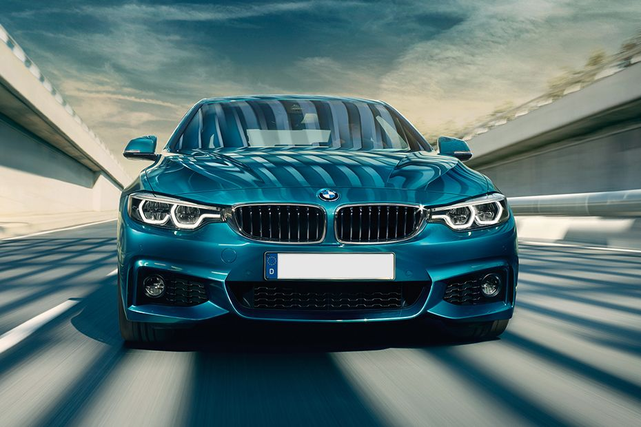 Full Front View of 4 Series Coupe