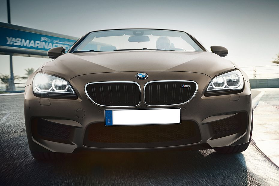 Full Front View of M6 Convertible