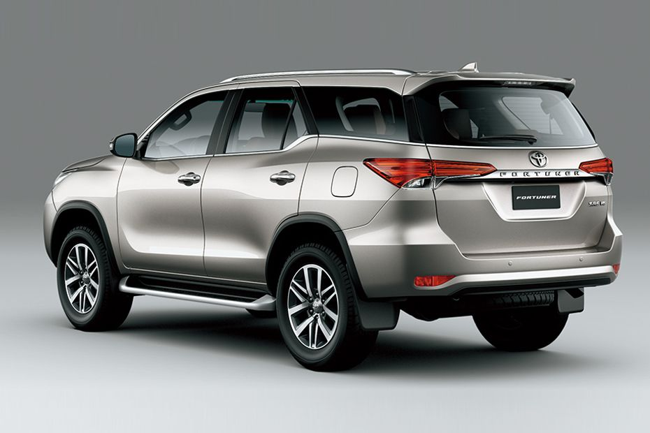 Toyota Fortuner Colors
