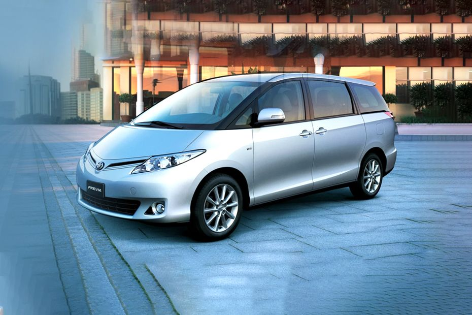 toyota previa 2021 images - view complete interior