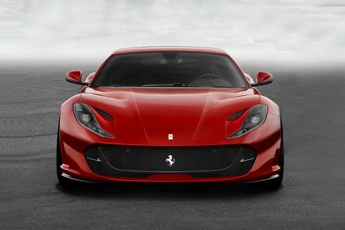 Full Front View of 812 Superfast