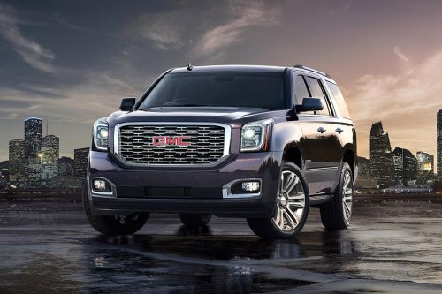 Yukon Denali Front angle low view