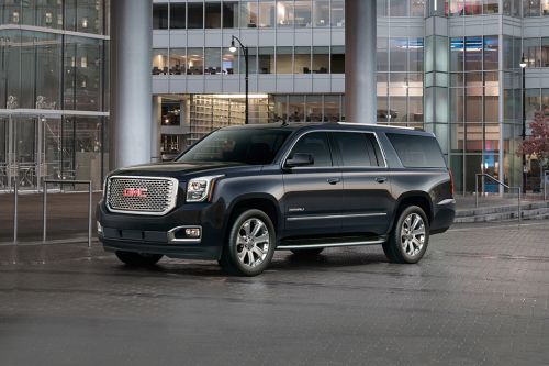 YUKON XL Denali Front angle low view