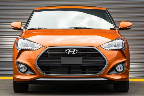 Full Front View Of Veloster Turbo. Hyundai ...