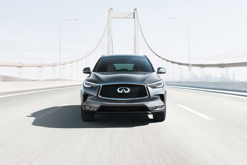 Full Front View of QX50 2019