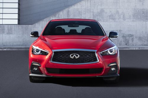 Full Front View of Q50