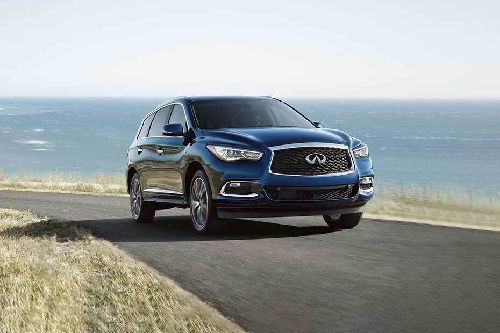 QX60 Front angle low view