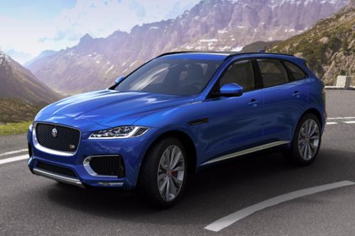 F-Pace Front angle low view