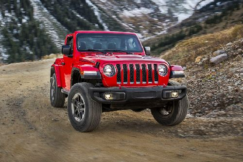 Wrangler Front angle low view