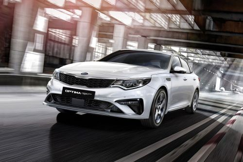 Optima 2019 Front angle low view