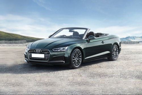 A5 Cabriolet Front angle low view