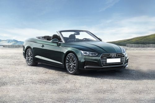 Audi A5 Cabriolet Front Medium View