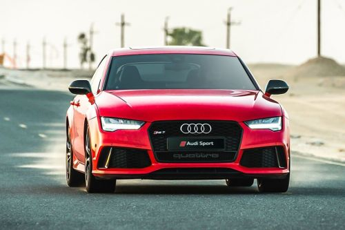 Full Front View of RS7