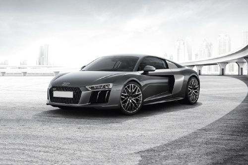 R8 Coupe Front angle low view
