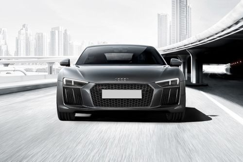 Full Front View of R8 Coupe