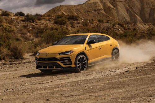 Urus Front angle low view