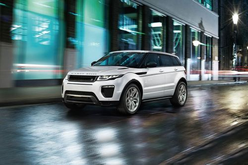 Range Rover Evoque Coupe Front angle low view
