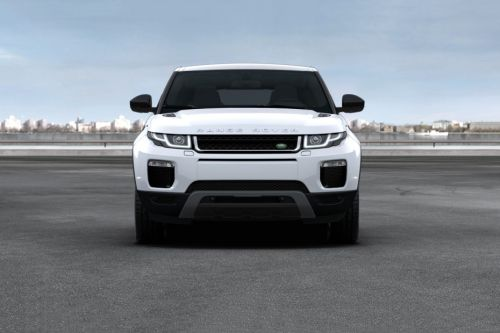 Full Front View of Range Rover Evoque Coupe