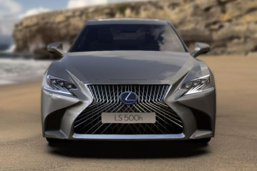 Full Front View of LS