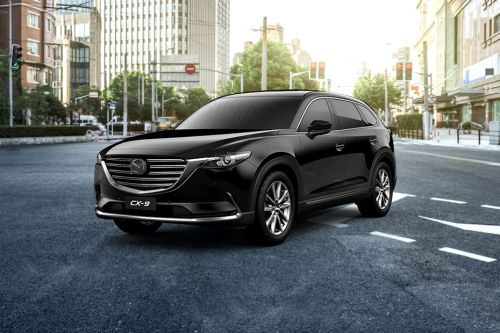 CX-9 Front angle low view