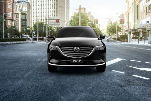 Full Front View of CX-9