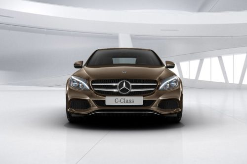 Full Front View of C-Class Sedan