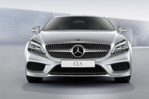 Full Front View of CLS-Class Coupe