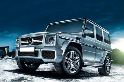 G-Class Front angle low view