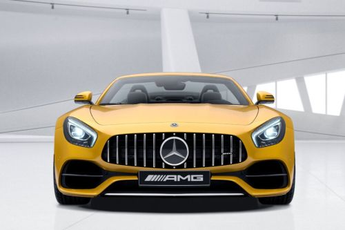 Full Front View of AMG GT