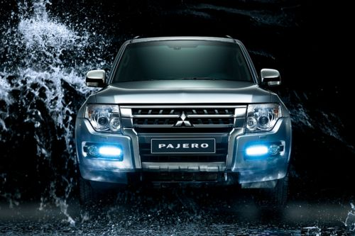 Full Front View of Pajero