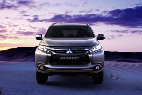 Full Front View of Montero Sport