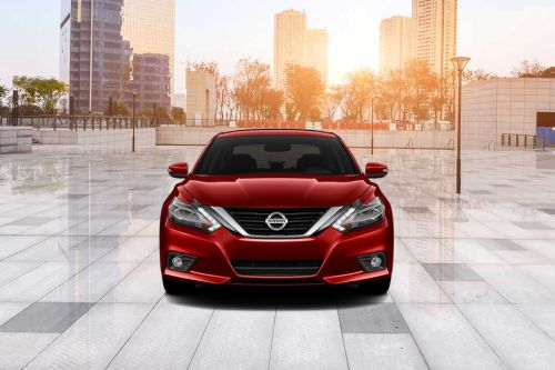 Full Front View of Altima