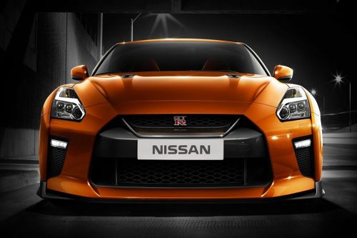 Full Front View of GT-R