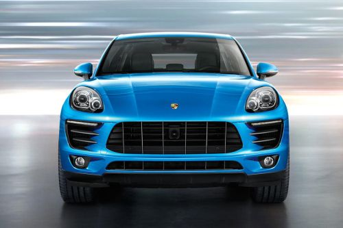 Full Front View of Macan