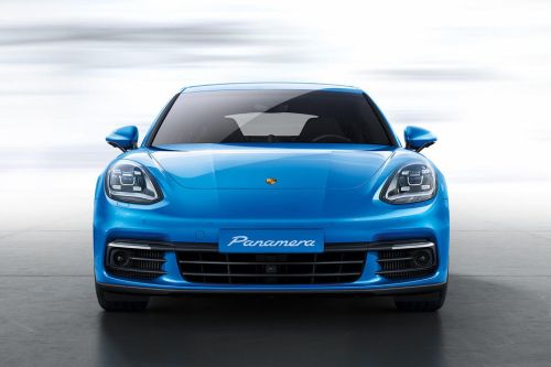 Full Front View of Panamera