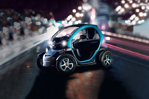 Twizy Front angle low view